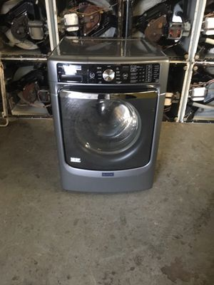 Washer brand Maytag everything is good working condition 90 days warranty delivery and installation for Sale in San Leandro, CA