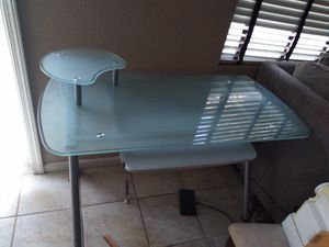 Tempered glass desk for Sale in Livermore, CA