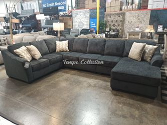 New Sectional Sofa, Slate, SKU# ASH41403RAF-3TC for Sale in Santa Fe Springs,  CA