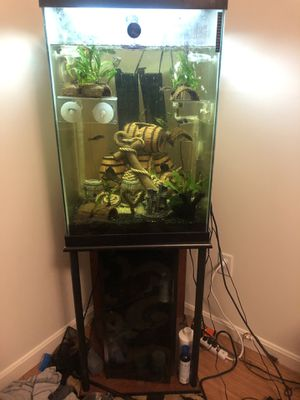 47 gallon complete fish tank for Sale in Baltimore, MD