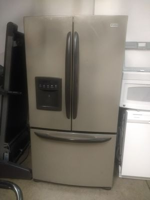 Kenmore elite black and stainless French door refrigerator for Sale in Westerville, OH