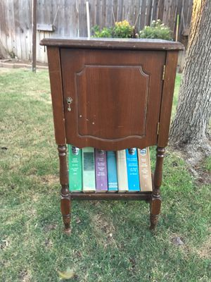 Antique smoking cabinet for Sale in Fresno, CA