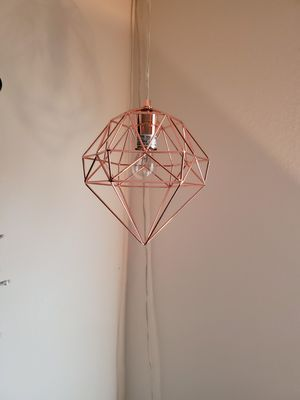 Set of 2 decorative geometric lights for Sale in Tampa, FL