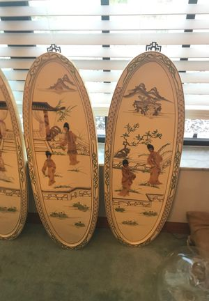 Set of 4 Chinese pictures for Sale in Masaryktown, FL
