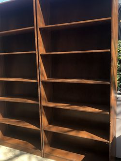 Executive Bookshelves! $125/each for Sale in Rancho Cucamonga,  CA