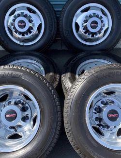 Gmc Sierra 3500 Dually Factory Wheels for Sale in Fontana,  CA