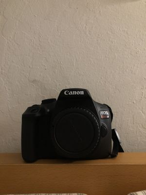 Canon EOS T6 Rebel (Body+2 Battery+Charger) for Sale in San Jose, CA