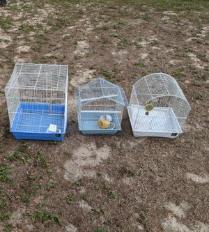 Birds cages$10 each for Sale in Clermont, FL