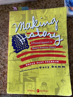 Making history book By: Bruce Olav Solheim for Sale in Baldwin Park, CA