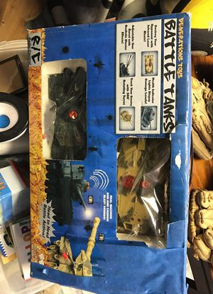 Battle tanks toy for Sale in Saint Paul, MN