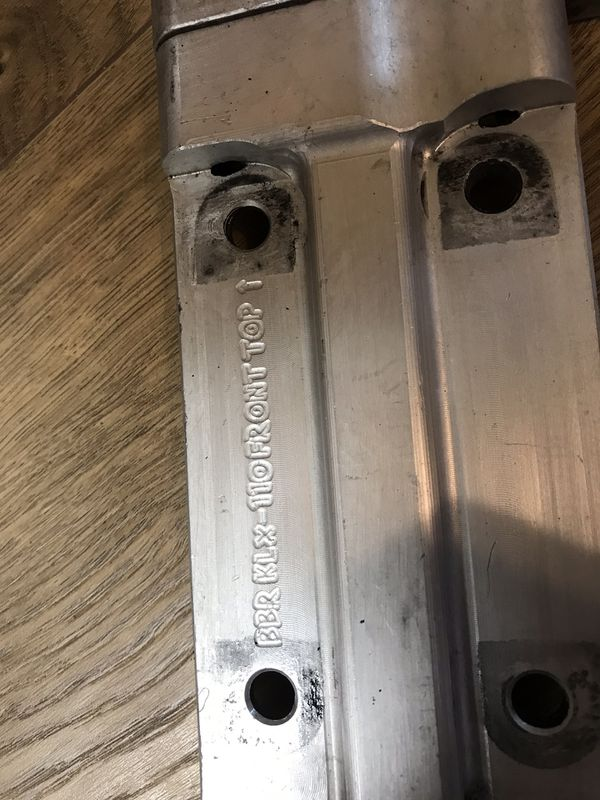 Klx110 BBR Perimeter frame Super Comp swing arm Elka stage 3 shock for Sale  in Riverside, CA - OfferUp