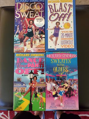 RICHARD SIMMONS TAPES for Sale in Laguna Beach, CA