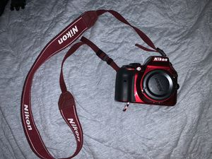 Nikon D3300 - Red Camera for Sale in Lutz, FL