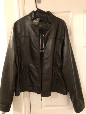 Dark Brown Leather Jacket XXL for Sale in Denver, CO