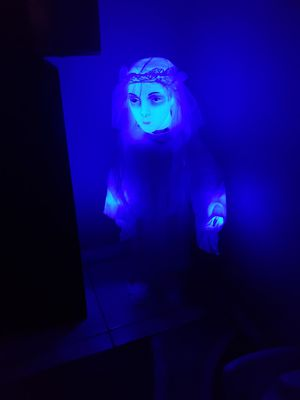 HALLOWEEN DECORATION TALKS AND MOVES WITH SOUNDS for Sale in Ontario, CA