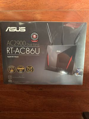 ASUS AC2900 Dual Band RT-AC86U Gigabit WiFi Router for Sale in Santa Monica, CA
