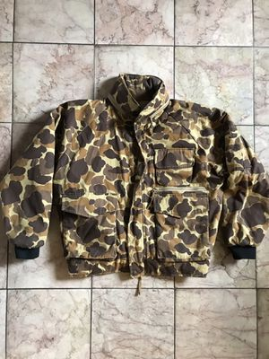 Vintage Cotton Duck Camouflage Hunting Parka Jacket for Sale in Alameda, CA