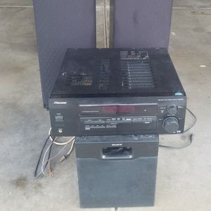 Sony Stereo System for Sale in Gilbert, AZ