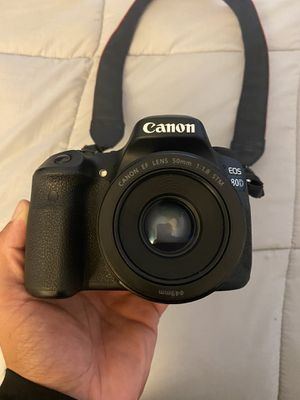 Canon 80D for sale with 3 lenses for Sale in San Diego, CA