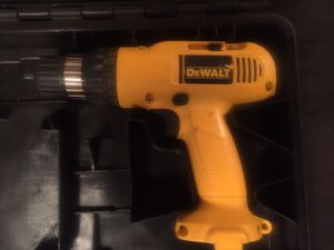 DeWalt 9.6 v drill with carrying case for Sale in Missoula, MT