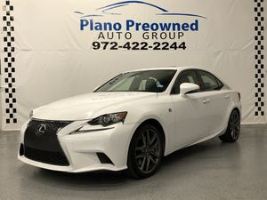 2014 Lexus IS350 AWD F Package for Sale in Plano, TX