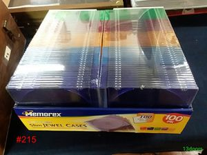 case of cd cases $10 for Sale in Evansville, IN