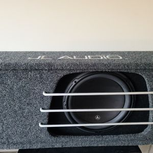 JL Audio Subwoofer with Rockford Fosgate Amplifier for Sale in Chesapeake, VA