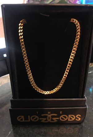 "The Gold Gods Franco Box chain 22"" for Sale in Kennewick, WA"