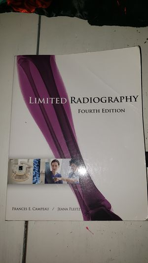 Radiology Limited Radiography Textbook for Sale in Temecula, CA