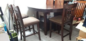 Breakfast table and 4 chairs for Sale in Miami, FL
