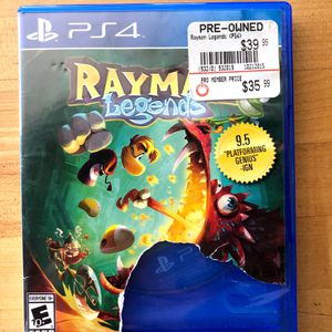 Rayman Legends for PS4 for Sale in San Jose, CA