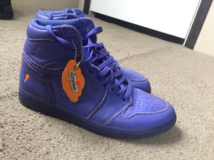 Jordan 1 Gatorade purple for Sale in Huron Charter Township, MI