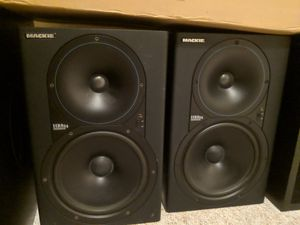 Mackie HR824 Powered Studio Monitors Pair Wood Assembly for Sale in Seattle, WA