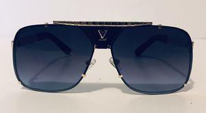 Luis Vuitton Designer Sunglasses Polarized Gold Tone With UV400 for Sale in Lawrenceville, GA