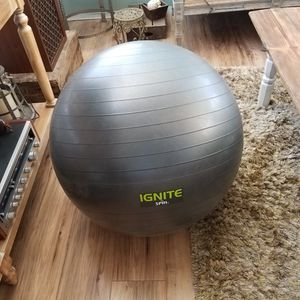 Fitness ball with weight inside for Sale in Corona, CA