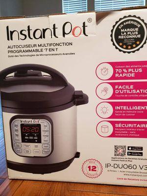 6 qt Instant pot, 5 months old for Sale in Allen, TX