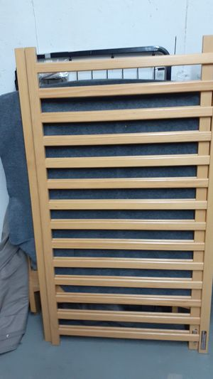 Solid oak crib and toddler bed for Sale in Worcester, MA