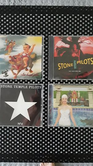 Stone Temple Pilots cd core tiny music no. 4 and purple for Sale in Plano, TX