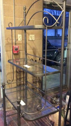 Four tiered bakers rack for Sale in Burr Ridge, IL
