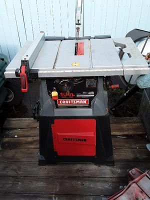 10 in table saw Craftsman for Sale in Riverview, FL