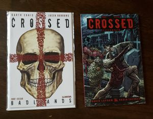 3 Books! Crossed Comic, HC, and TPB set! for Sale in Chino Hills, CA