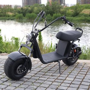 """2000W Softail Fat Tire Electric Scooter 