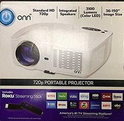 Onn 720p projector for Sale in Houston,  TX