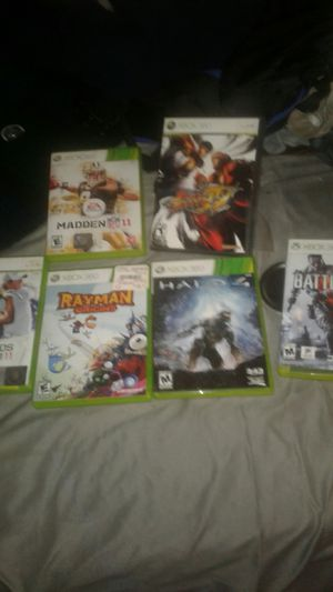 6 Xbox 360 games mint condition 25 for oall for Sale in Portland, OR