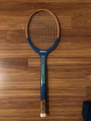 Wilson vintage tennis racket for Sale in Durham, NC