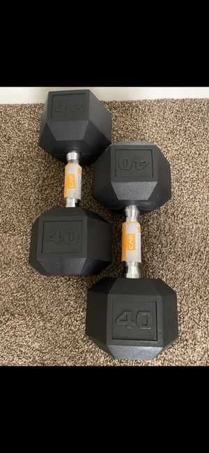 Brand New-40 lbs Dumbbells Set for Sale in Fresno, CA