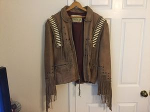 Ladies motorcycle jacket w/ chaps for Sale in Cary, NC