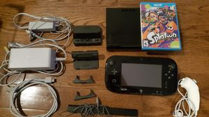 Nintendo Wii U System with Splatoon for Sale in Secaucus, NJ