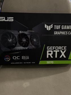 ASUS TUF Gaming NVIDIA GeForce RTX 3070 OC Edition Graphics Card for Sale in West Covina,  CA