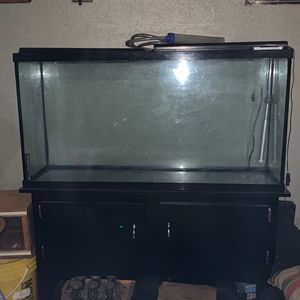 60 Gallon Fish Aquarium And Stand For Sale for Sale in Encino, NM